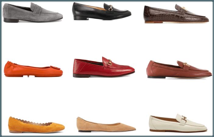 shoes colour hair