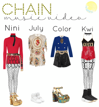 chain mysic video outfits