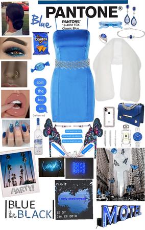 A Pantone Blue party