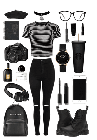• the black •