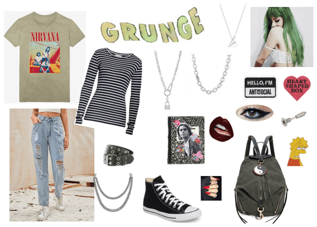 Back2School - Grunge