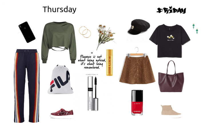 School Outfits Thursday-Friday