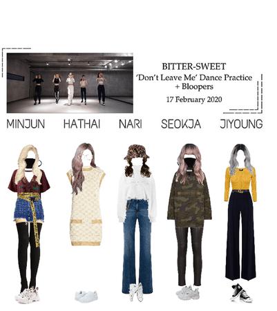 BITTER-SWEET [비터스윗] Dance Practice 200217