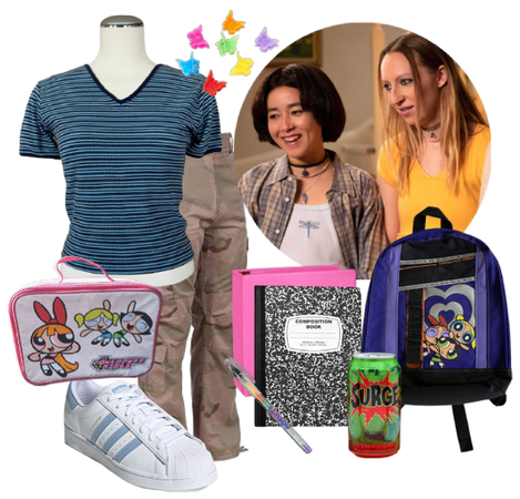 PEN15-Inspired Outfit from 2000