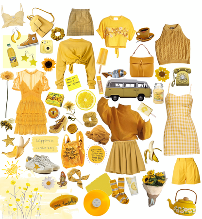 more yellow