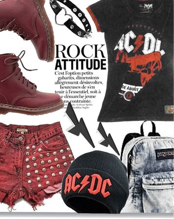 ac/dc concert outfit
