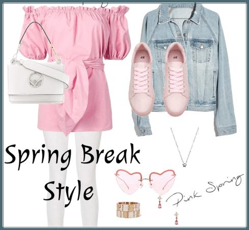 Spring Break Style - Pink Spring