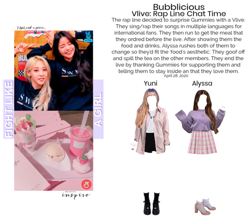 Bubblicious (신기한) [YUNSSA] Vlive