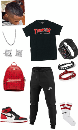 college outfit men