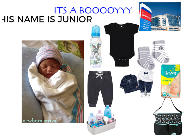 YYYAAAAAY BAY JUNIOR IS BORN