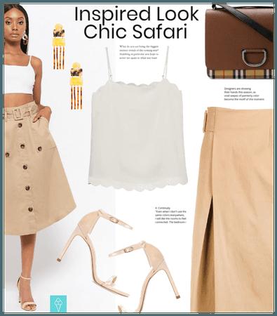 Inspired Look: Chic Safari