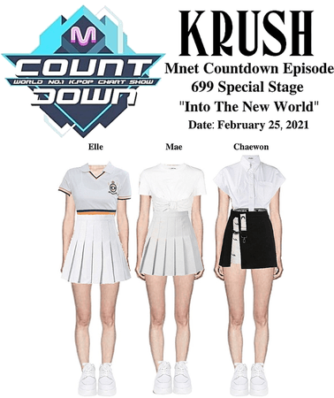 """KRUSH Mnet Countdown Special Stage """"Into The New World"""""""