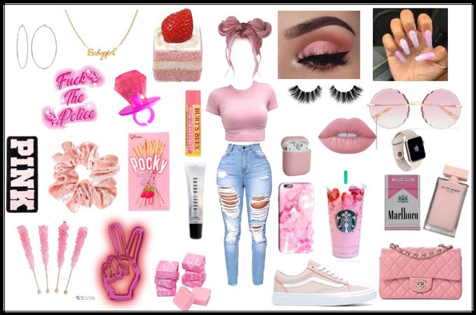 pink outfit  @fallon_morgan