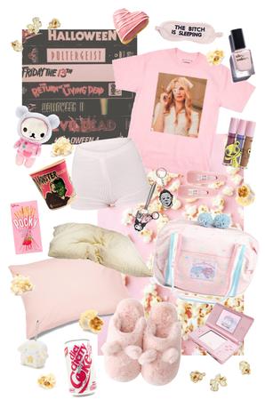 pink movie night