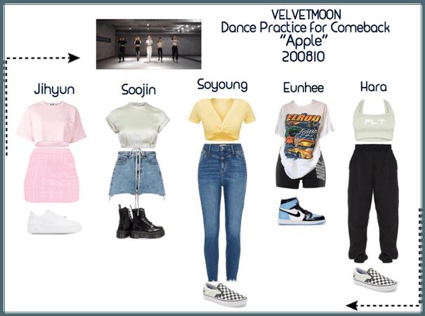| VELVETMOON | Dance Practice 200810
