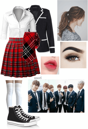 Jina's Boy in Luv outfit (1)