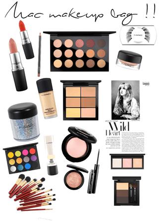 the Mac makeup 💄 bag  !! xox