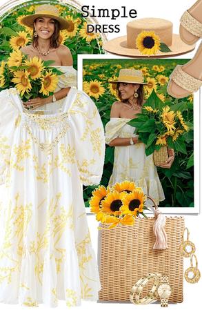 simple dress 🌻🌻🌻🌝🌼