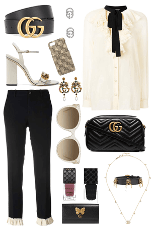 one brand style: gucci