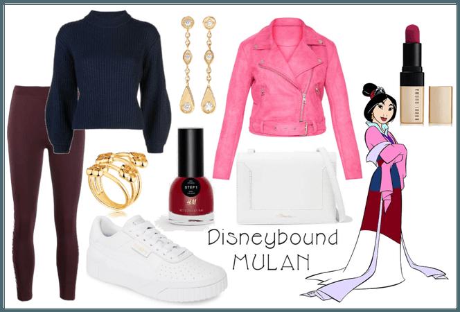 Mulan Disneybound
