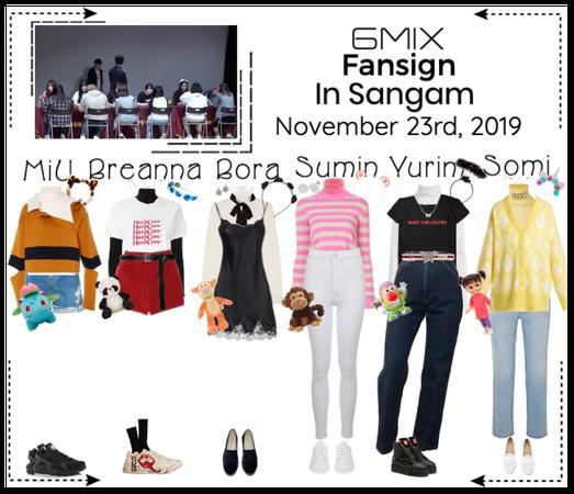 《6mix》Sangam Fansign