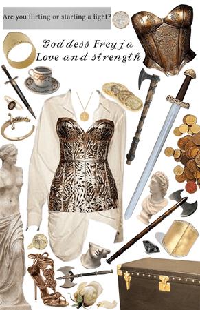 Goddess Freyja love and strength ❤️