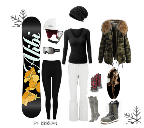 Snowboarding trip