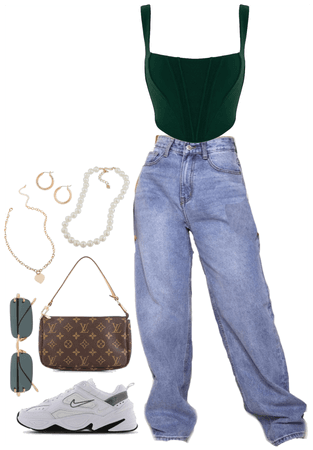 jeans&cutetop