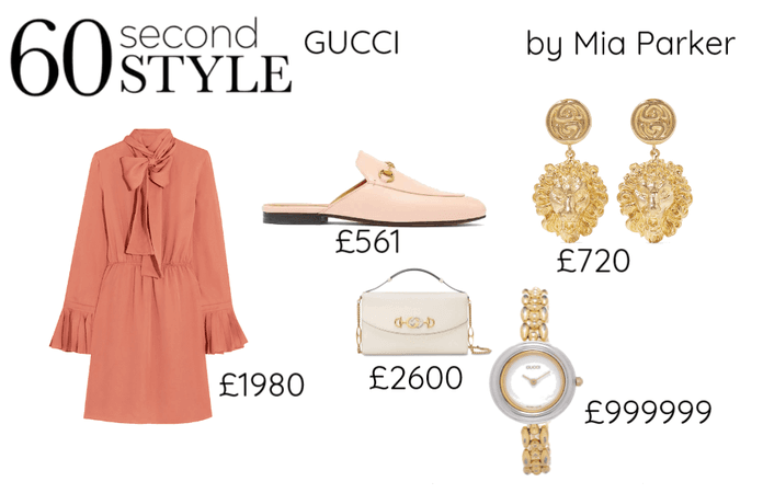 60 second style GUCCI