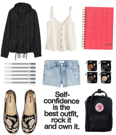sometimes simple outfits are the nicest ones