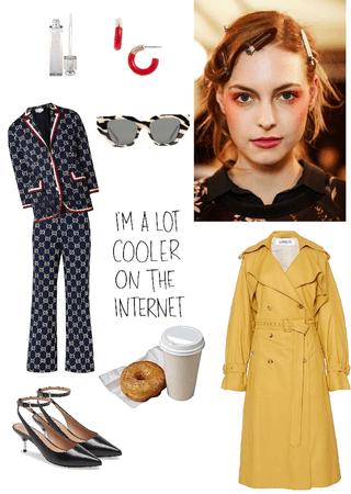 fashion week pajamas