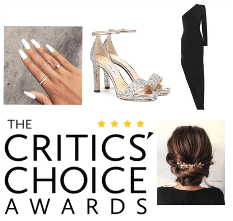 Critics' Choice Awards Outfit