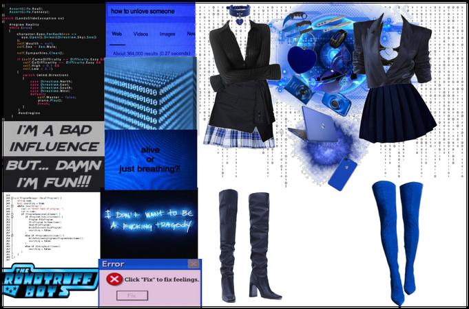 blue mastermind oc lookboard (1am post)