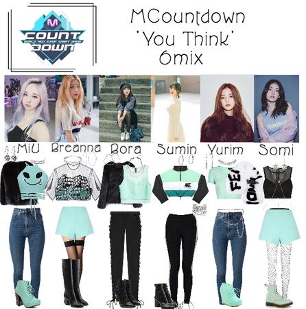6mix - MCountdown Live ' You Think'