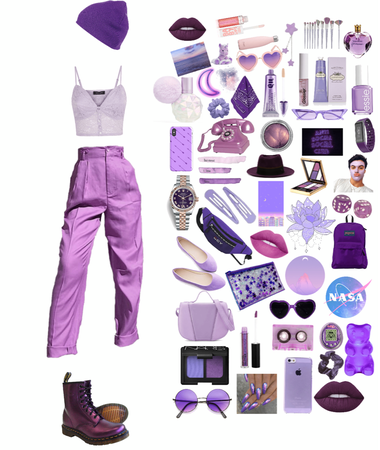 be your purple self