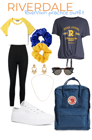 Riverdale cheer practice outfit