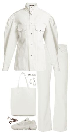 minimalistic white