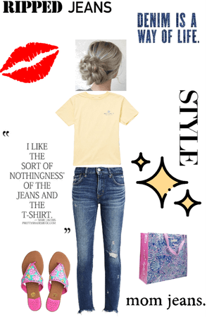 #jeans&cutetop
