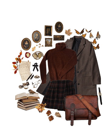 Earthy tones and autumnal hues