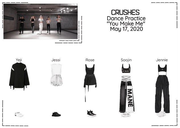 "Crushes (호감) ""You Make Me"" Dance Practice"