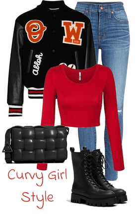 Curvy Girl Style (CGS): When Red's Ahead