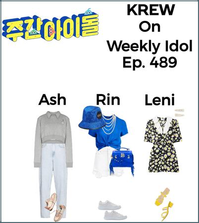 KREW On Weekly Idol