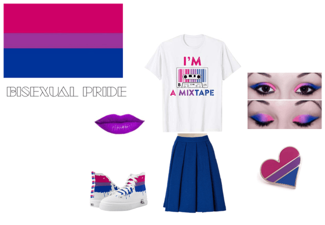 Bisexual Pride Outfit