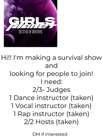 help with girls planet