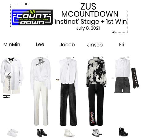 ZUS//'instinct' MCOUNTDOWN Stage + 1st Win