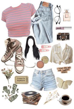 the soft vintage girl