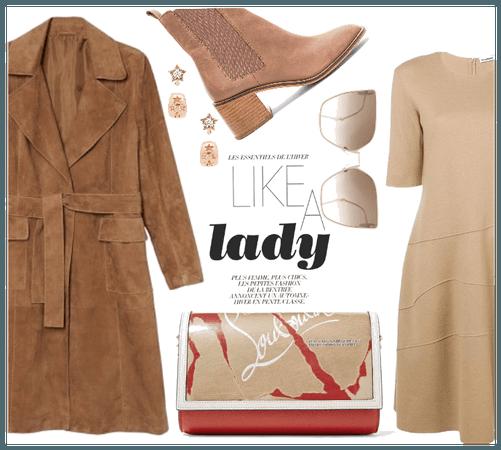 wear leather like a lady