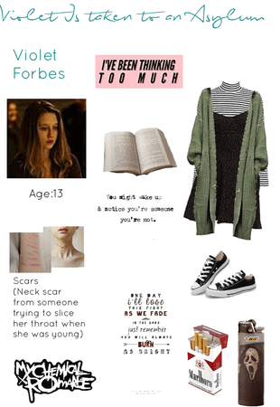 Violet Forbes~TVD Oc~Before Season 1