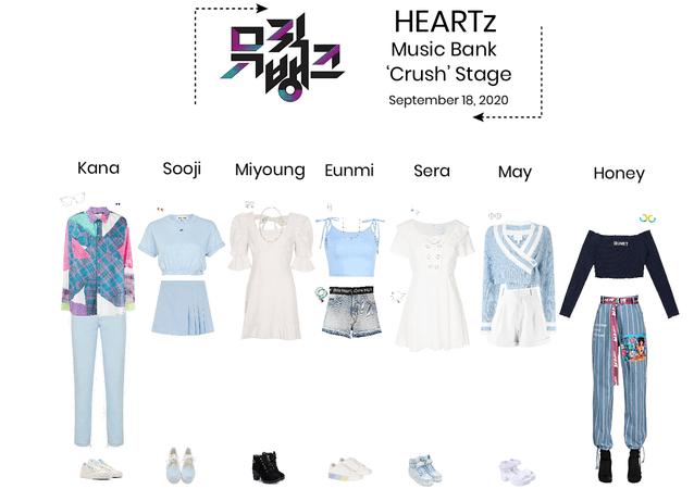 HEARTz// 'Crush' Music Bank Stage