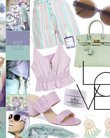 mint + lilac delight | @we_girl contest